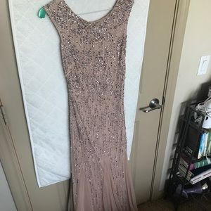 Adrianna Papell beaded evening gown size 2
